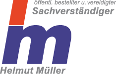 Logo Helmut Müller, ö.b.u.v. Sachverständiger